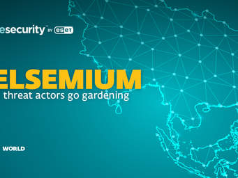ESET Research uncovers latest version of Gelsemium: Cyberespionage against government & other target