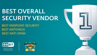 ESET Voted Best Overall Security Vendor at 11th Annual Reseller Choice Awards in Canada