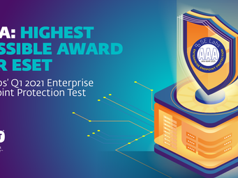 ESET earns top award in SE Labs' Enterprise Endpoint Protection test
