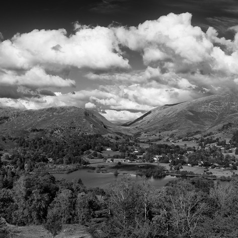 View over Grasmere from Dow Bank