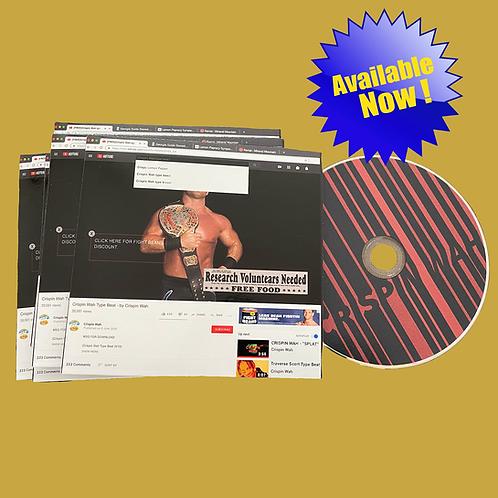 Crispin Wah Type Beat (CD)