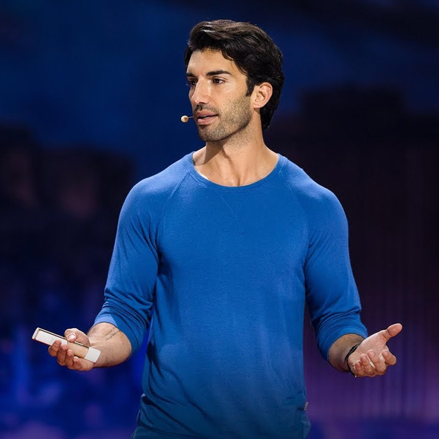 """Justin Baldoni: Why I'm done trying to be """"man enough"""""""