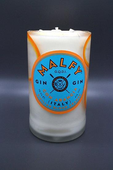 Malfy Blood Orange Gin Bottle Candle