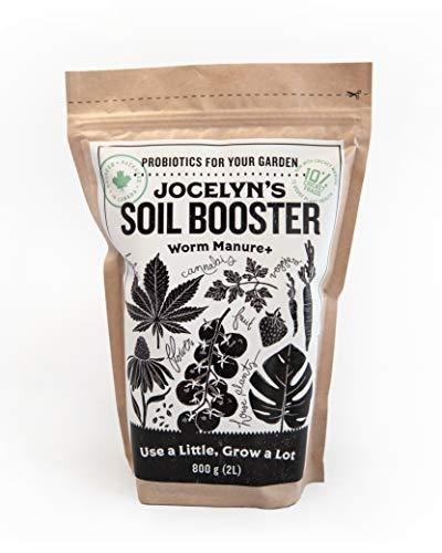 JOCELYN'S SOIL BOOSTER WORM MANURE (CASTINGS)