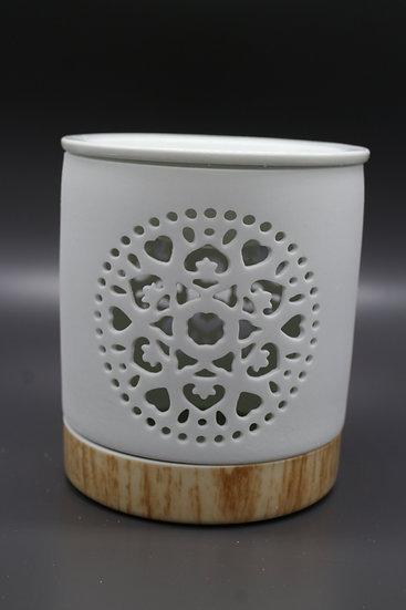 Mandala Ceramic Wax Melt & Oil Burner