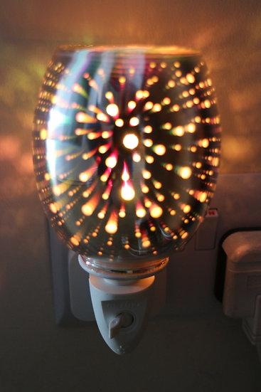 Plug In Glass 3D Oil Burner