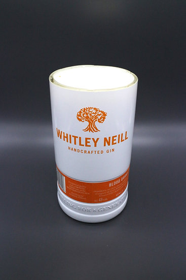 Whitley Neill Blood Orange Gin Bottle Candle