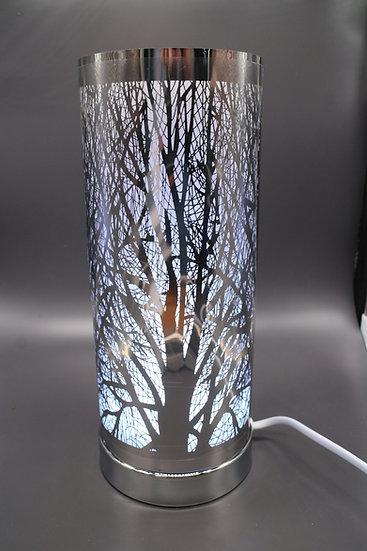 Silver Tree & Wax Melt Aroma Lamp
