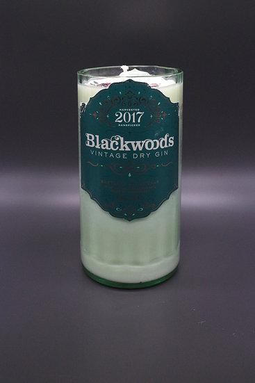 Blackwoods Gin Bottle Candle
