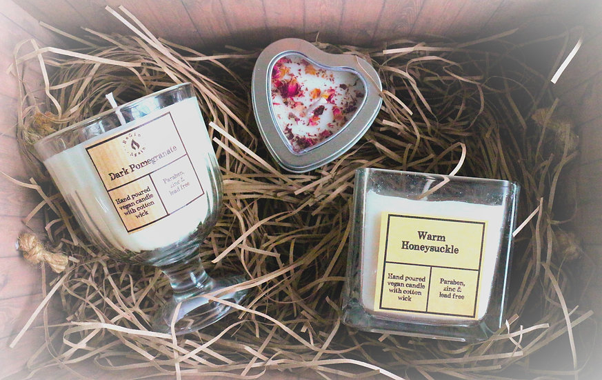 Mother's Day Candle Trio Hamper