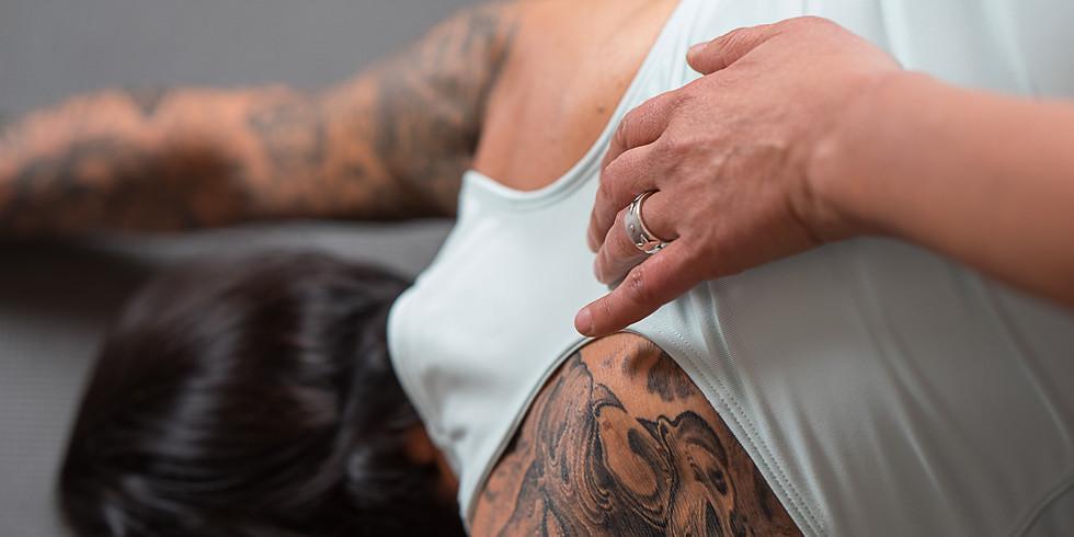 Schultern, Nacken, Kopf und Kiefer (Online)