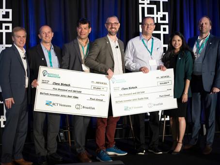 Clara Biotech Wins BioTools Innovator Best Video Award, 2021