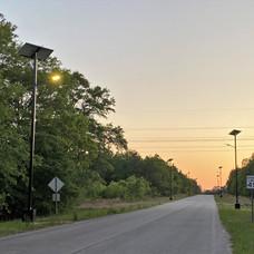 Sandy Run Industrial Park - sunset
