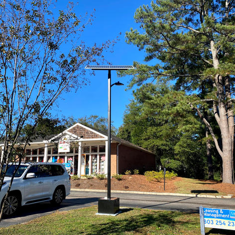 Forest Village Shopping Center - day