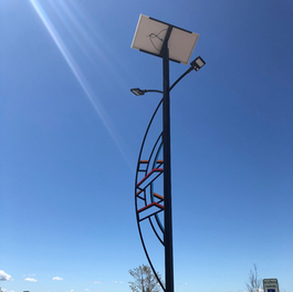 Solar Only Renewable Lighting Systems