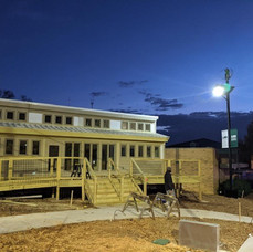 UAB Solar House - night