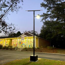Smart Pole Renewable Lighting Systems
