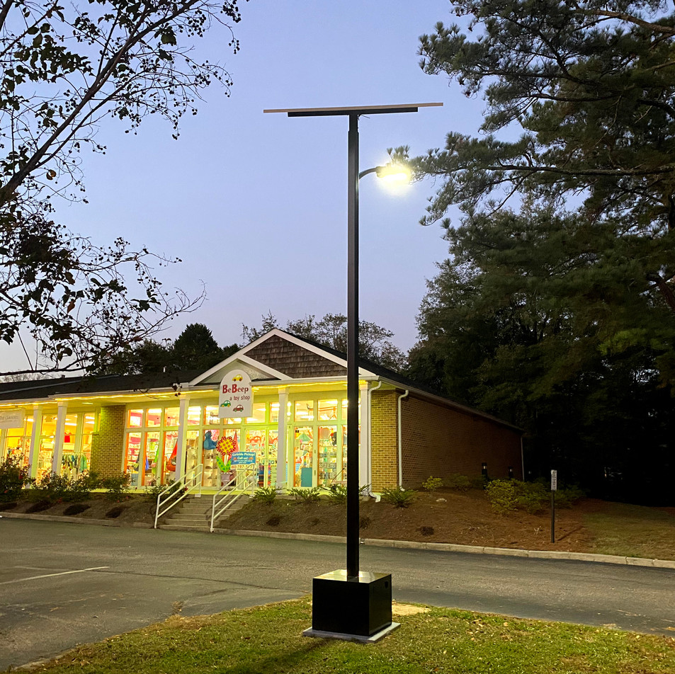 Smart Pole Renewable Lighting Systems