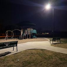 Delga Park - night