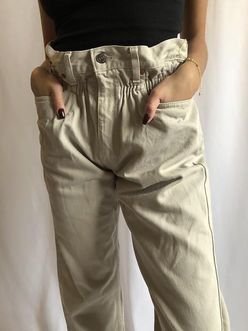 Vintage 615 beige Levi's Jean