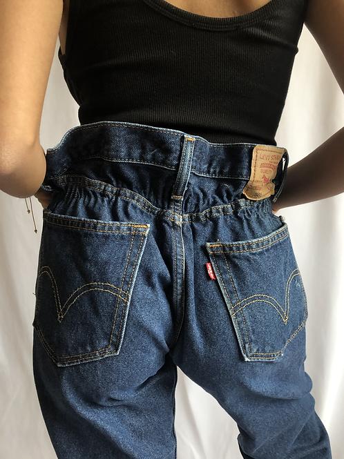 Vintage 505 dark blue Levi's Jean Regular Fit