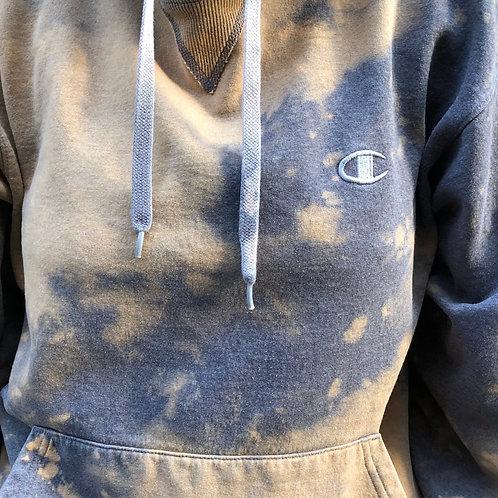 Bleached Champion sweatshirt