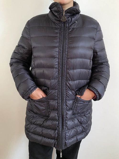 Vintage grey Moncler puffer long jacket