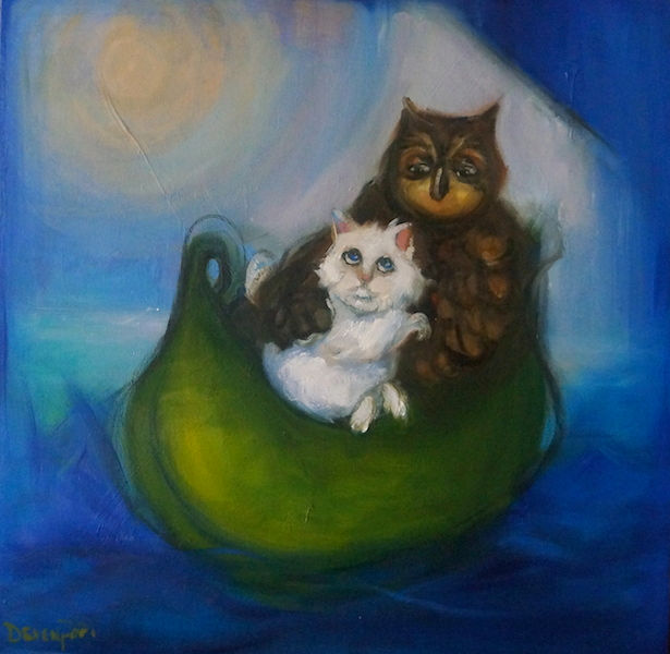 Susie Devenport. Chasing Dreams (Owl and