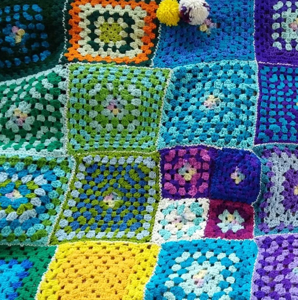 Class 3 - Crochet blanket