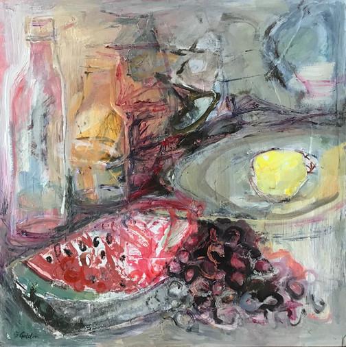 Barbara Goldin - Still Life with melon