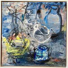 Barbara Godin. Still Life with Yellow Te