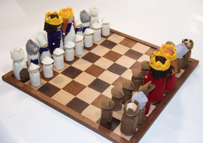 Class 6 - Chess Set and Playing Board