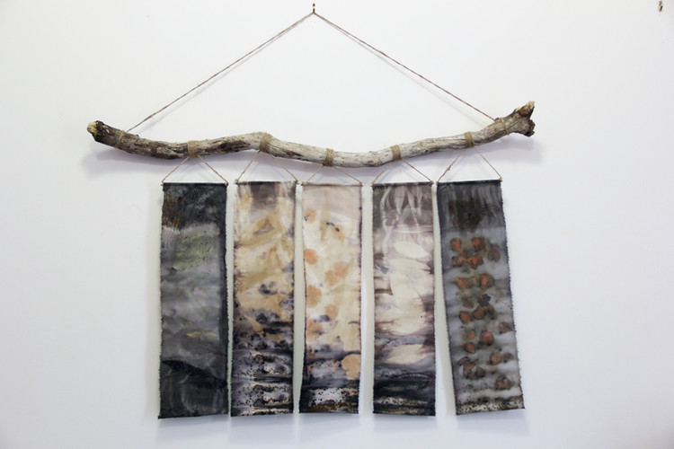 Class 8 - Hand dyed Silk and Paper
