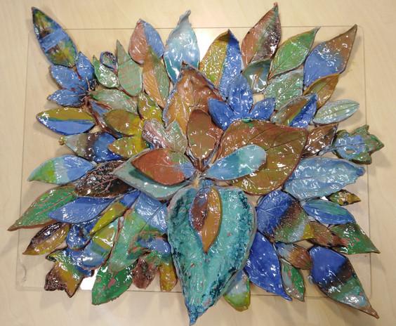 Class 4 -  Leaf Mandala