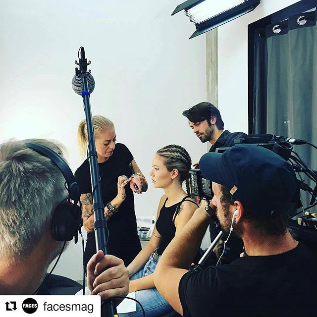 Shooting day🎥💄📸_#facestv#eyeliner#maybelline#contouring#braids__björnvonrotz_ellinanderegg_faces