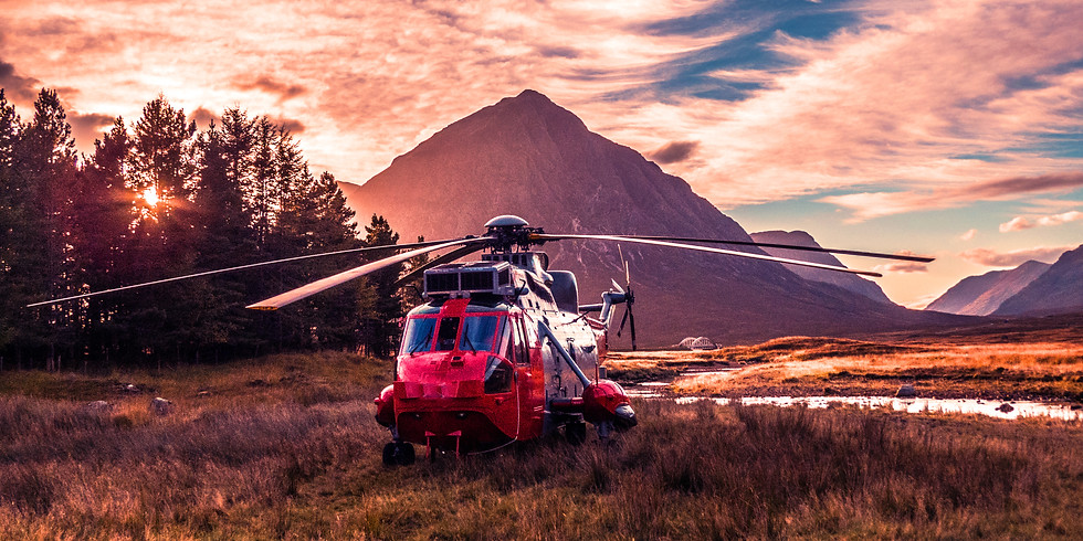 Helicoptor Tour of Canmore and Mountains 2021