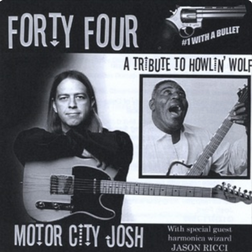 """Forty Four: A Tribute to Howlin' Wolf"" CD"