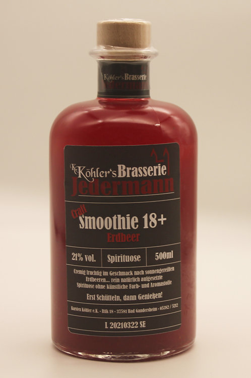 Craft Smoothie 18+ Erdbeer