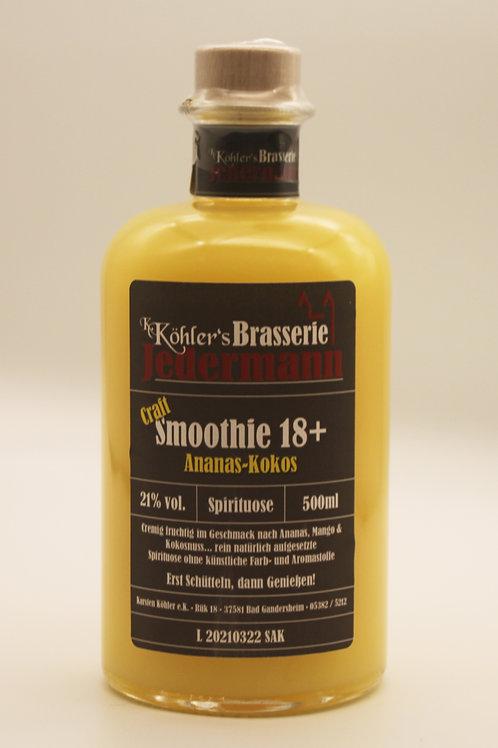 Craft Smoothie 18+ Ananas Kokos