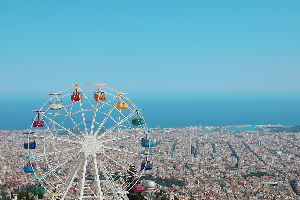 Travel to Tibidabo in Barcelona and Catalonia