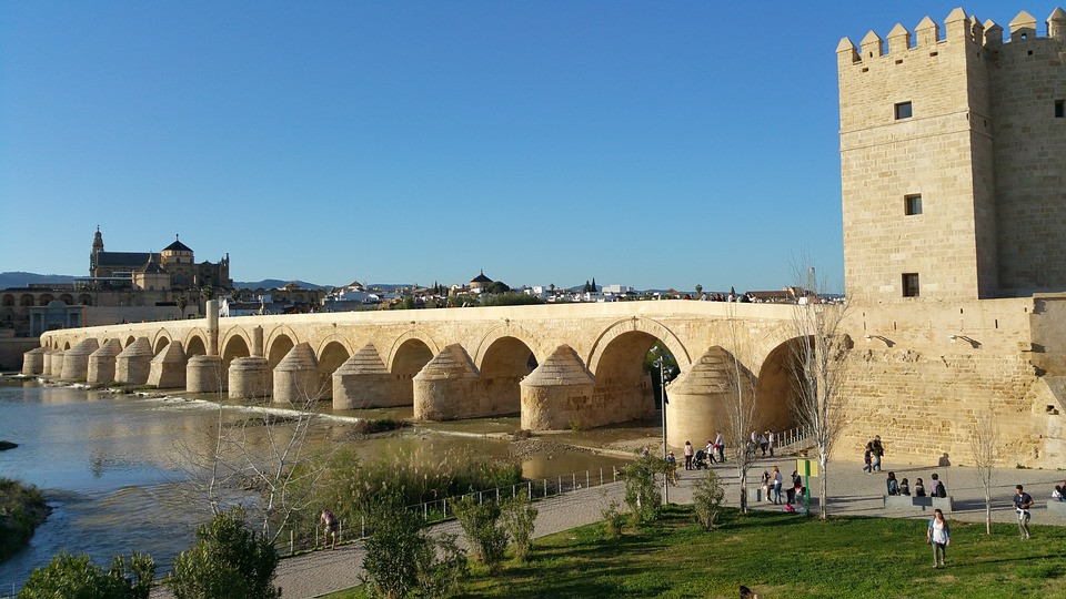 Roman Bridge of Cordoba in Spain in Game of Thrones
