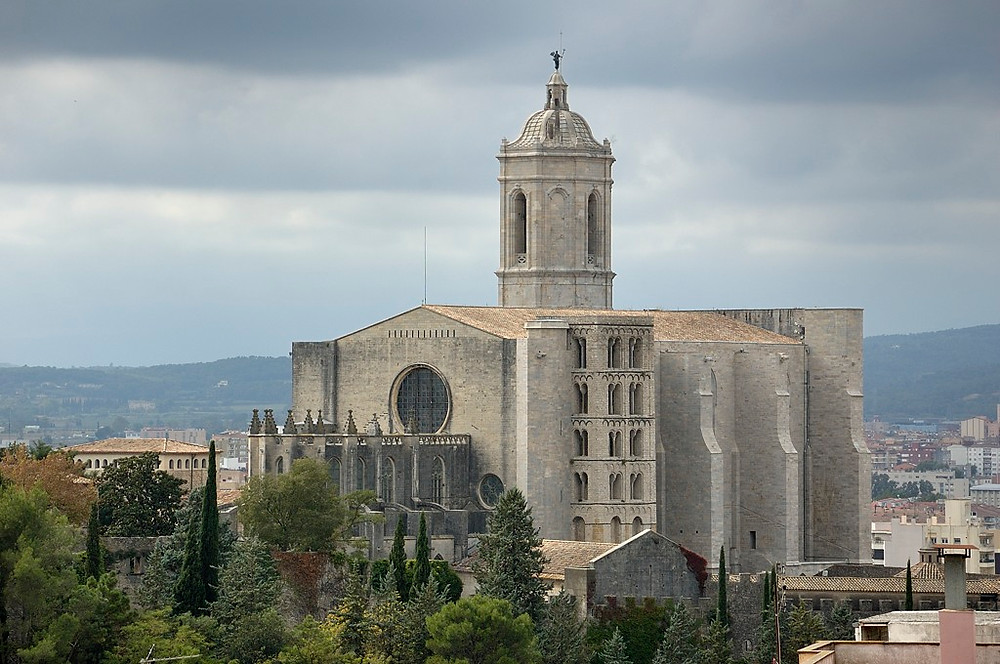 Cathedral at the medieval city of Girona