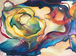 """DXB #4 24""""x18"""" Acrylic on Canvas"""