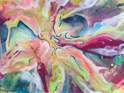 """Surge 24""""x18"""" Acrylic on Canvas"""