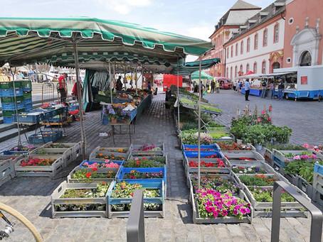 Frischemarkt in Prüm 3. März 2021