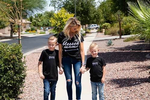 Blessed Mama - Mommy & Me Shirt Set