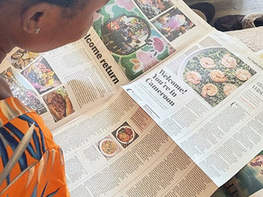 LA TIMES Review of Mama D's: Eureka moments for anyone new to Cameroonian flavors