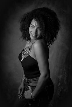photo studio femme afro