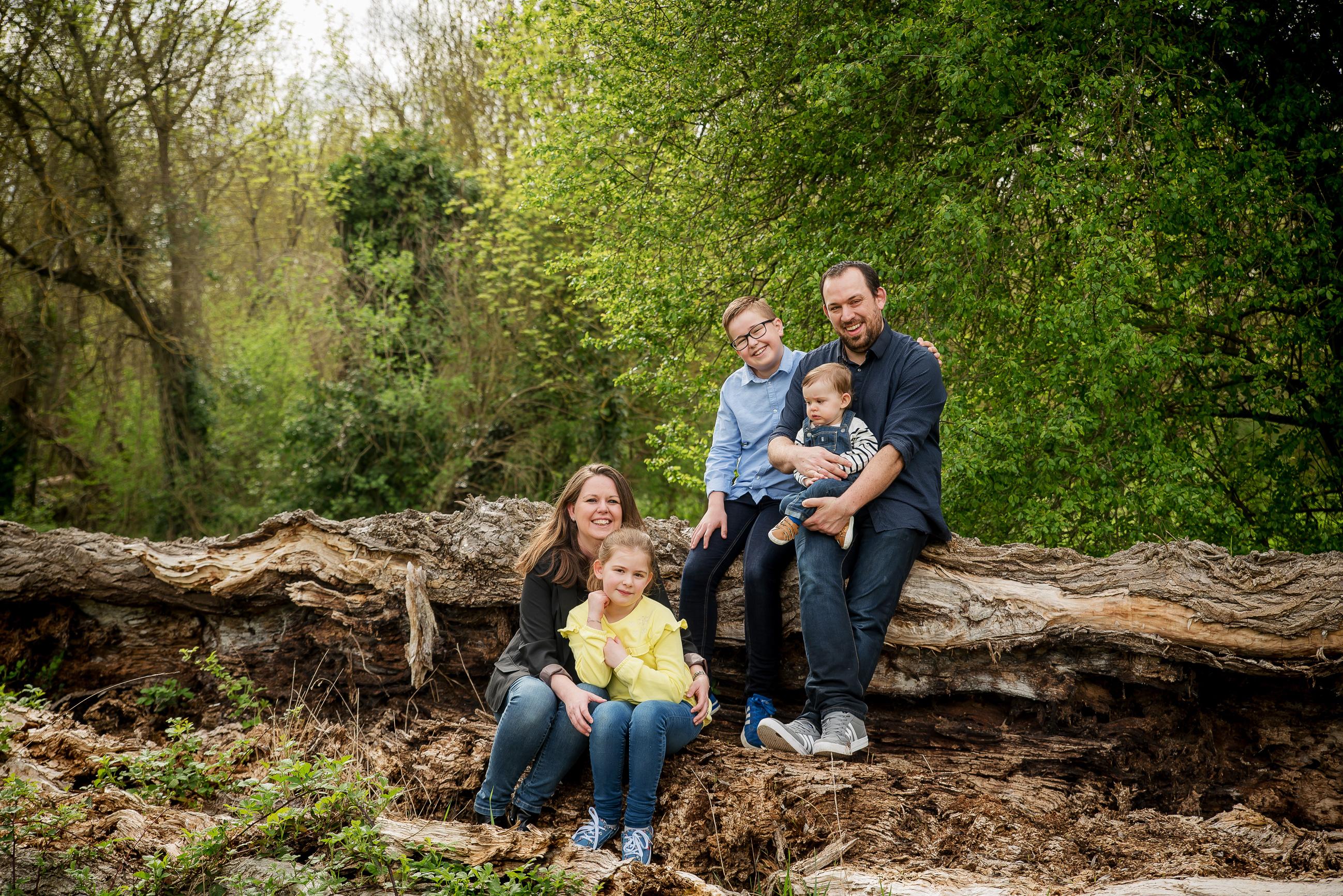 Photo de famille Tronc arbre nature