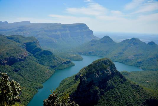 Canyon afrique du sud
